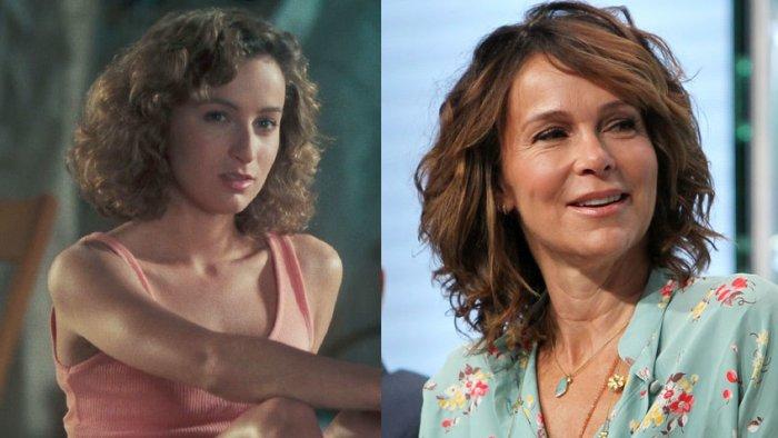 Дженнифер Грей в роли Бэби в 1987 году и на телешоу в 2016 году | Источник: Rex / Fotodom.ru