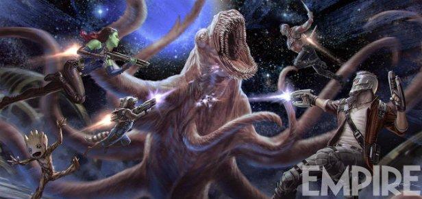 Опубликован концепт-арт «Стражей Галактики 2»