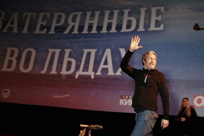 Мадс Миккельсен представил российским зрителям «Затерянных во льдах»