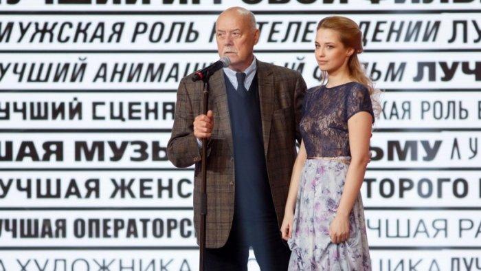 Станислав Говорухин и Аглая Шиловская