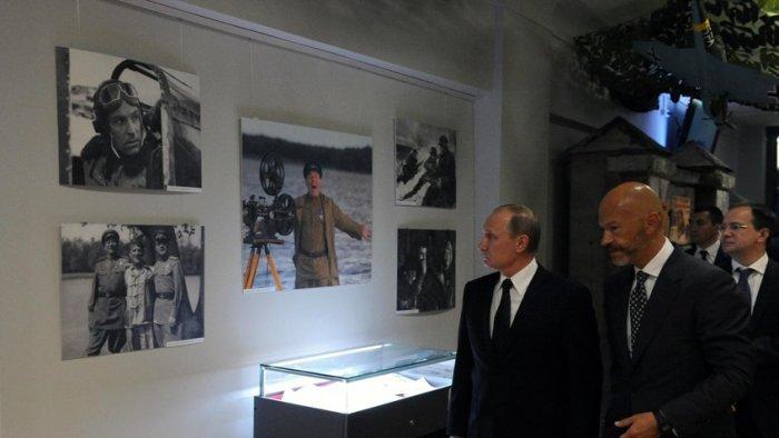 Владимир Путин на киностудии «Ленфильм»