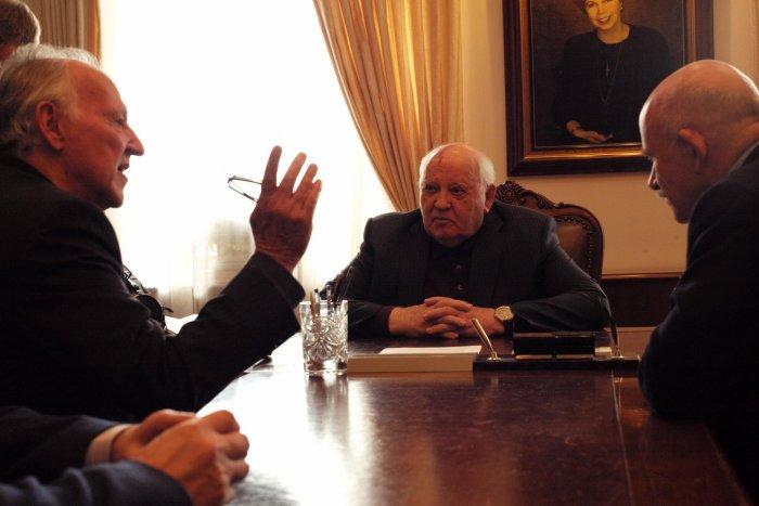 На лейпцигском фестивале покажут фильм Вернера Херцога про Михаила Горбачева