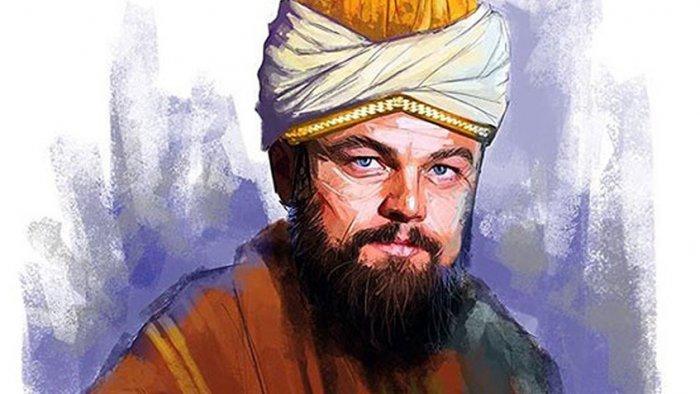 Как бы выглядел Леонардо Ди Каприо в образе Руми. Фото: Shahab Jafarnejad/7 Sobh Daily