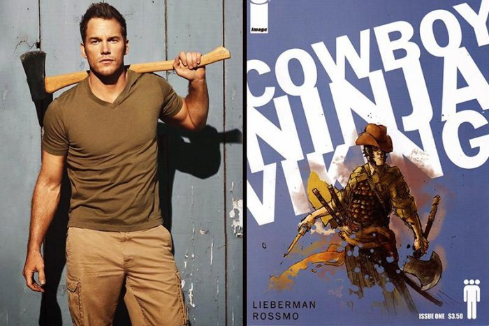 Режиссер «Во все тяжкие» экранизирует комикс «Ковбой ниндзя викинг»