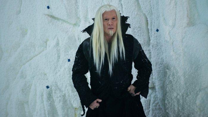 Алексей Кравченко на съемках фильма «Дед Мороз. Битва магов»