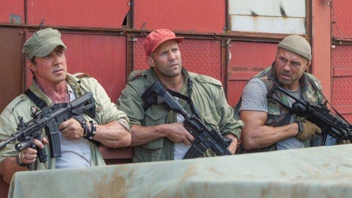 Кадр из фильма «Неудержимые 3»