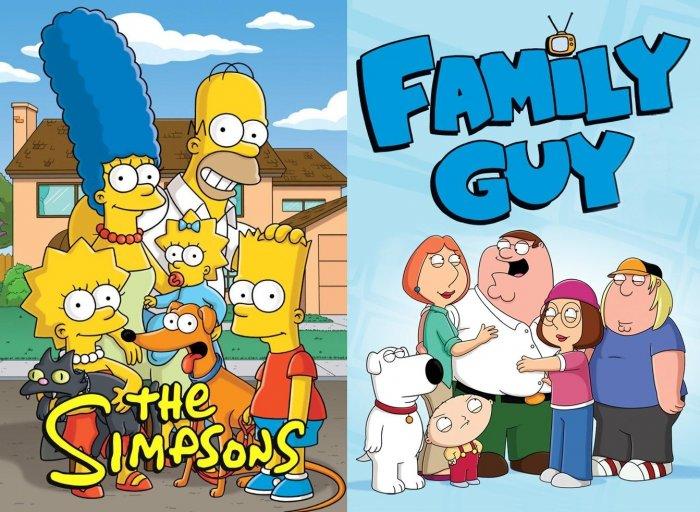 Fox разрабатывает полнометражных «Симпсонов» и «Гриффинов»