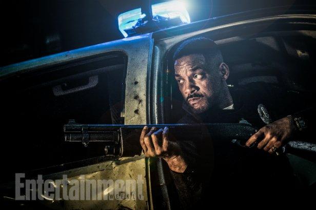Первые кадры и новые подробности сюжета полицейского фэнтези-триллера Дэвида Эйра «Яркость»