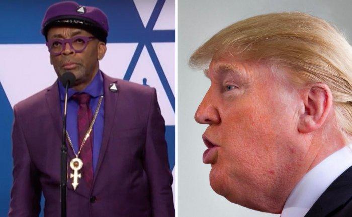 Дональд Трамп назвал Спайка Ли расистом после его речи на «Оскаре»