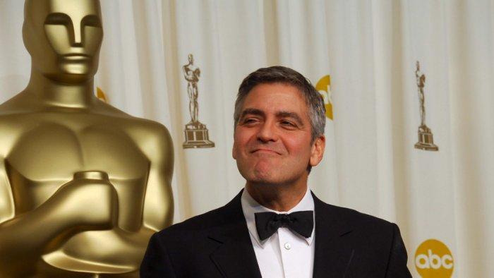 Джордж Клуни на церемонии вручения премии «Оскар», 2006 год
