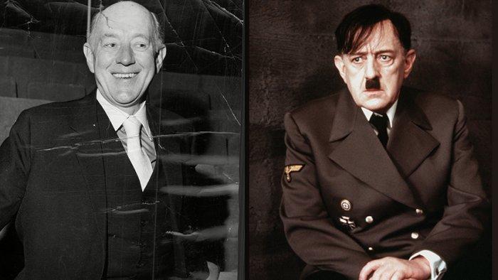 Алек Гиннесс, 1973 год / в фильме «Гитлер: Последние десять дней»