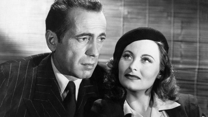 Хамфри Богарт и Мишель Морган в фильме «Путь в Марсель», 1944 год | Источник: Rex / Fotodom.ru