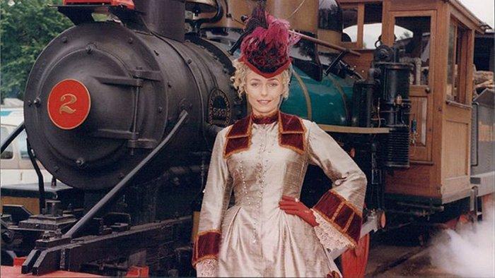 Наталья Андрейченко в образе княгини Низамовой на съемках сериала «Доктор Куин: Женщина-врач»