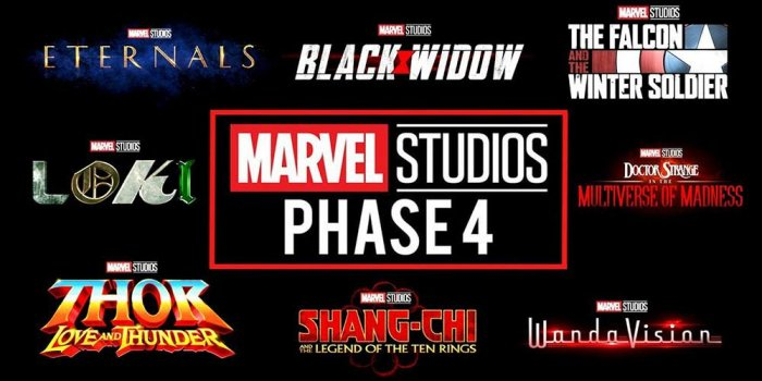 Студия Marvel анонсировала все фильмы и сериалы Четвертой фазы