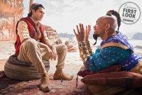 Появились первые кадры Уилла Смита в образе Джинна из «Аладдина» Гая Ричи