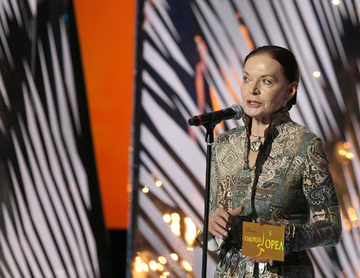 Людмила Чурсина на премии «Золотой орел», 2010 год