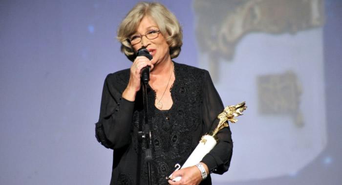 Ольга Остроумова на кинофестивале «Созвездие», 2016 год