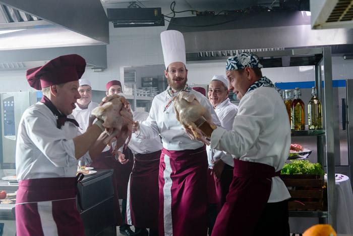 Съемки фильма «Кухня. Последняя битва»