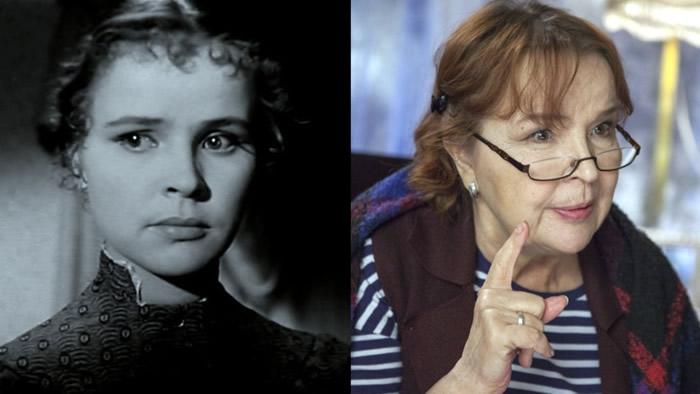 Тамара Семина в фильме «Воскресение», 1960 год / в сериале «Королева Марго», 2017 год
