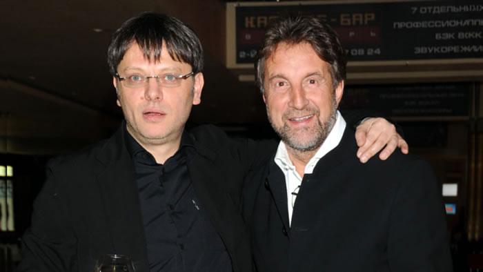 Валерий Тодоровский и Леонид Ярмольник