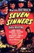 Постер «Семь грешников»