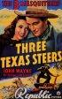 Постер «Три техасских наездника»