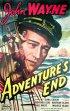 Постер «Конец приключения»