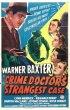 Постер «The Crime Doctor's Strangest Case»