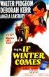 Постер «Когда придет зима»