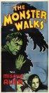 Постер «The Monster Walks»