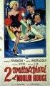 Постер «2 mattacchioni al Moulin Rouge»