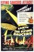Постер «Земля против летающих тарелок»