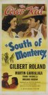 Постер «South of Monterey»