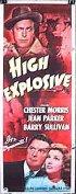Постер «High Explosive»