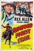 Постер «След Красного дерева в лесу»