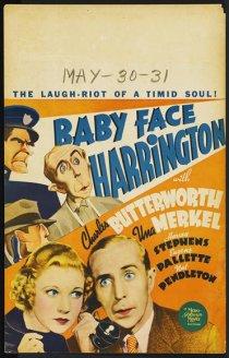 «Baby Face Harrington»