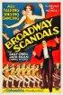 Постер «Broadway Scandals»