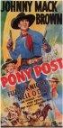 Постер «Pony Post»