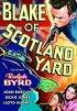 Постер «Блэйк из Скотланд-Ярда»