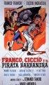 Постер «Franco, Ciccio e il pirata Barbanera»