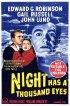 Постер «У ночи тысячи глаз»
