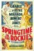 Постер «Весна в скалистых горах»