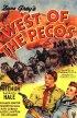 Постер «West of the Pecos»