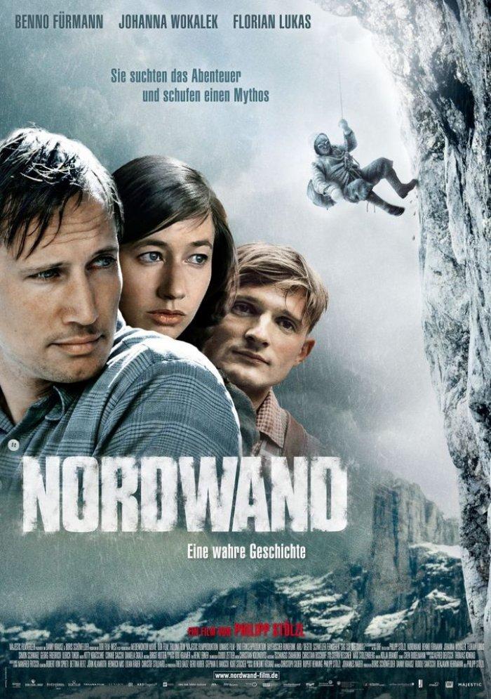Фильм северная стена (nordwand) вокруг тв.