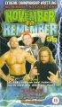Постер «ECW Ноябрь, чтоб запомнить»