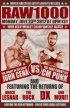 Постер «WWE RAW»