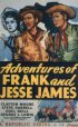 Постер «Adventures of Frank and Jesse James»