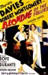 Постер «Blondie of the Follies»