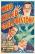 Постер «Кто убил Гейл Престон?»