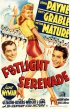 Постер «Footlight Serenade»